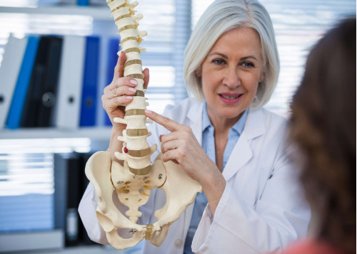 Spine examination (OSCE)