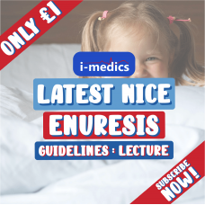 Enuresis Lecture Video: Latest NICE Guidelines