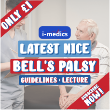 Bell's Palsy Lecture Video: Latest NICE Guidelines
