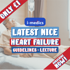 Heart Failure Lecture Video: Latest NICE Guidelines