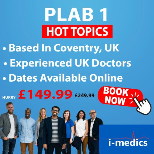 PLAB 1 Hot Topics Course