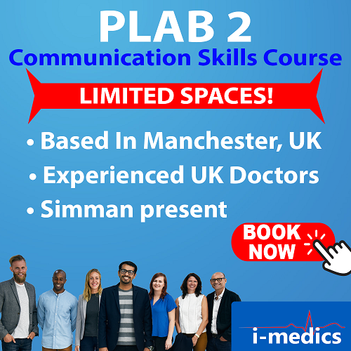 PLAB 2 Communications Skill Course: MANCHESTER