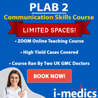 PLAB 2 Advanced Communications Skill Course + Mocks: (LIVE Zoom)